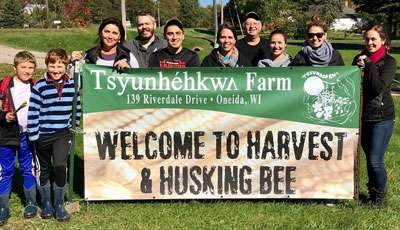 Harvest and Husking Bee
