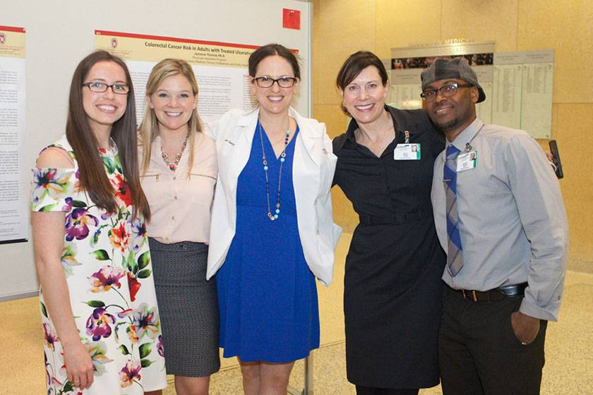 Group of physician assistant students