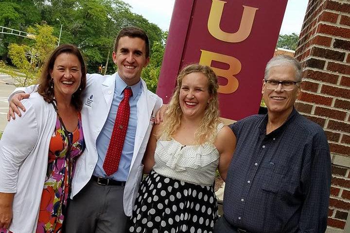 Ross Gilbert and family