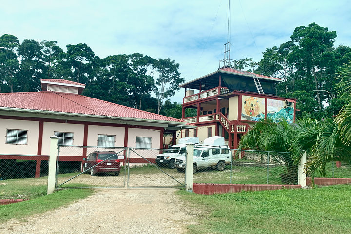 A medical clinic in Belize