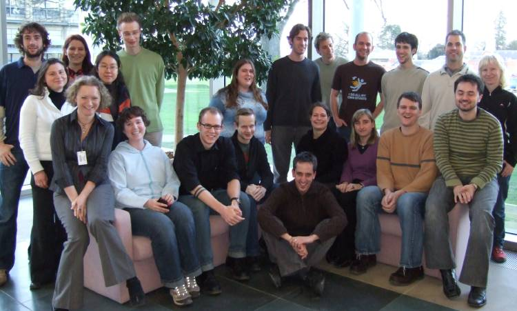 A group photo of graduate students