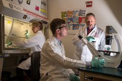 Mario Otto in Immunotherapy Lab