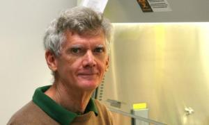 Photo of Bill Sugden in the lab