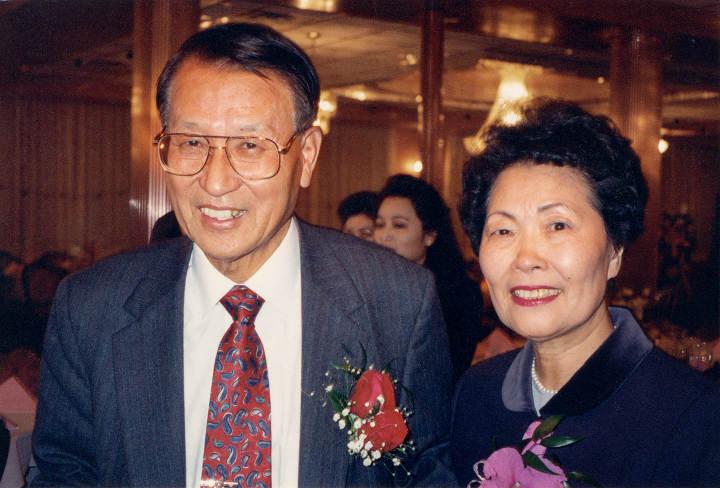 Kiuck and OkSoon Lee
