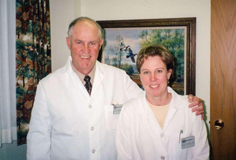 David Morris and Mary Morris