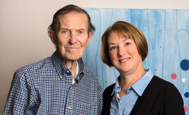 Matthew Dinsdale and Barbara Blodi photo