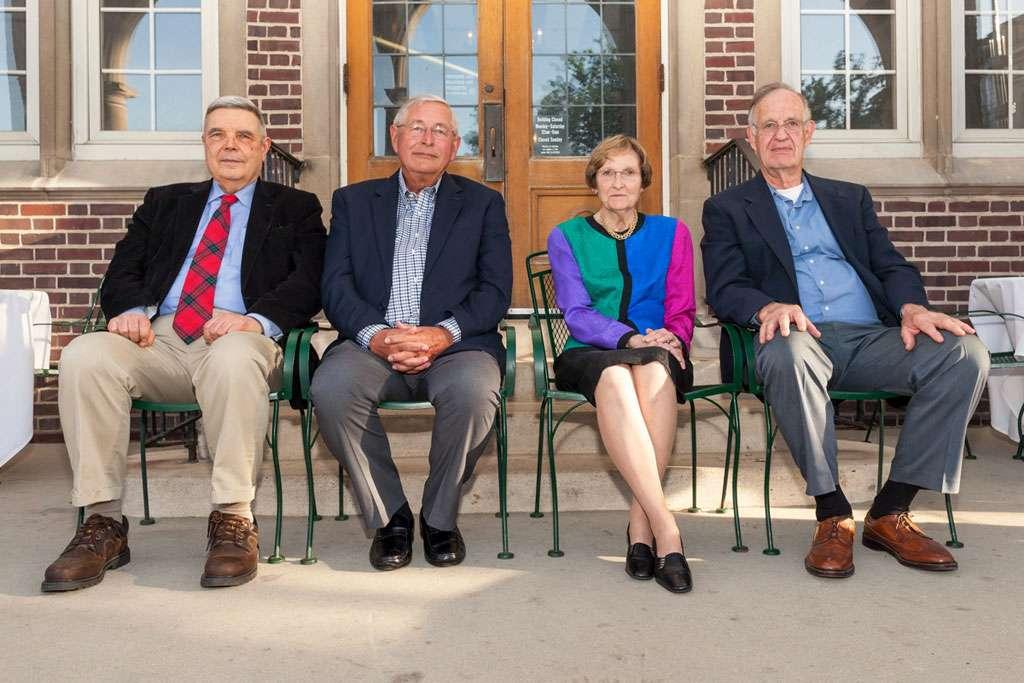 Dennis Maki, Leon Helmbrecht, Mary Ellen Peters and Pierce Meier